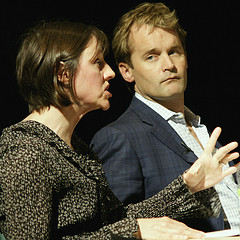 Kate Taylor and Seamus O'Regan