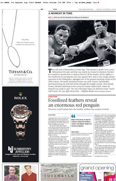 The Globe and Mail A2